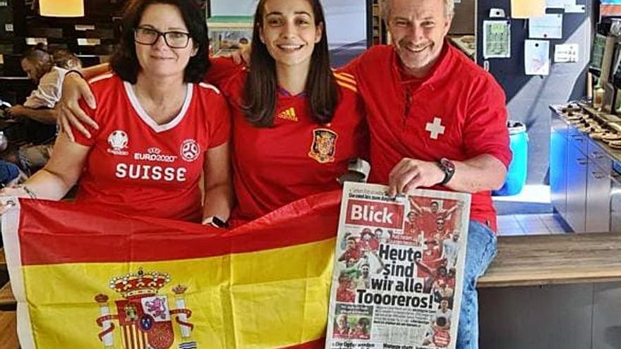 """Los asturianos en Suiza tras la victoria: """"Casi me da un mal"""""""