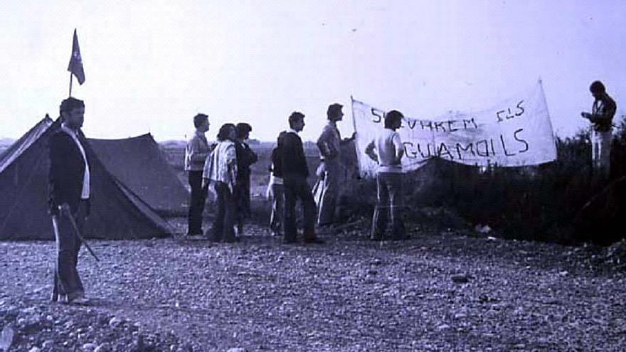 Els Aiguamolls de l'Empordà, quaranta anys de l'acampada que els va salvar de la mort