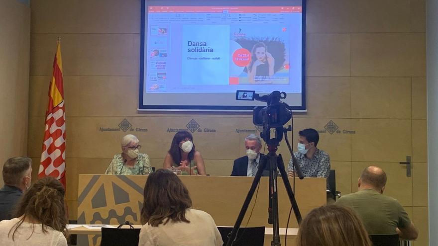 Ballarins catalans i internacionals arriben a Girona per a participar en la tercera edició del festival Girona en Moviment