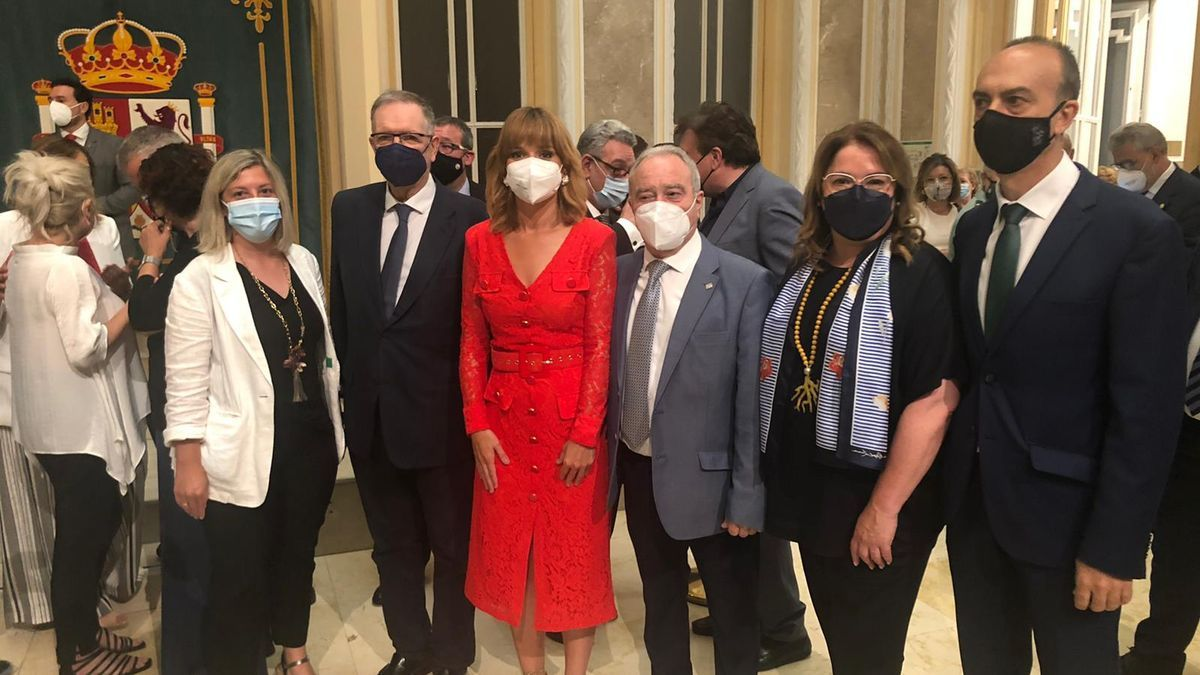 La aragonesa Pilar Alegría en la toma de posesión de su nueva cartera ministerial