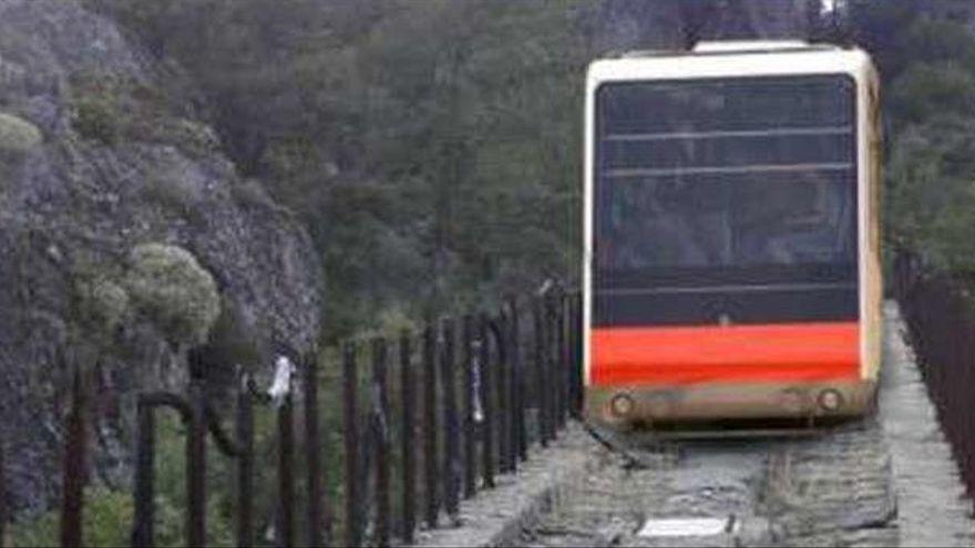 El funicular del Lago de Sanabria