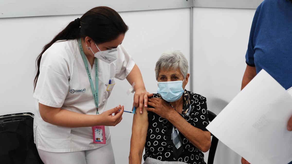 Vacunación en el Ifevi.
