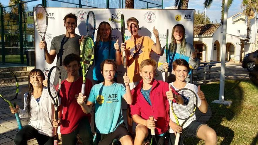 Arranca en Xàbia el primer Trofeo David Ferrer ITF Júnior