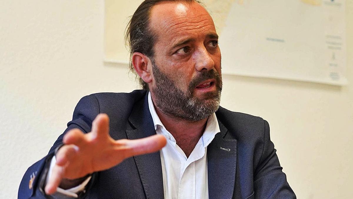 Juan Cassá, edil no adscrito del Ayuntamiento de Málaga