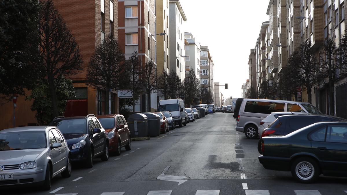 Calle Badajoz, donde ocurrieron los hechos.