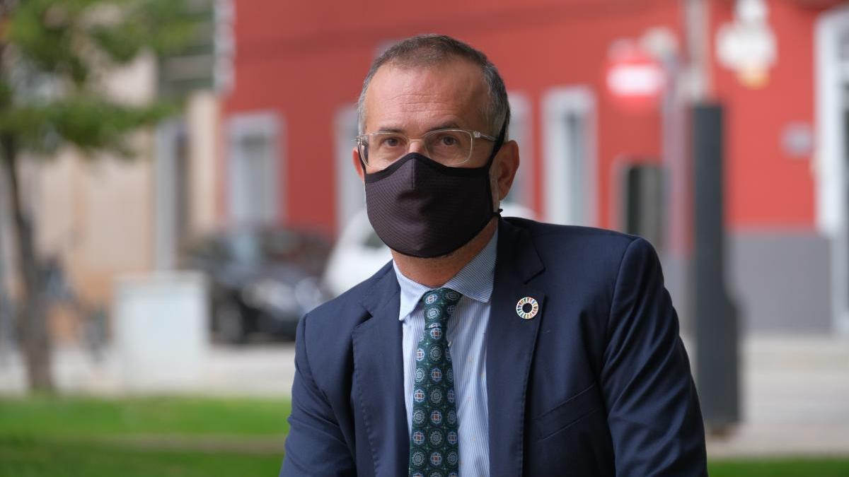 El vicealcalde de l'Ajuntament de Figueres, Pere Casellas.