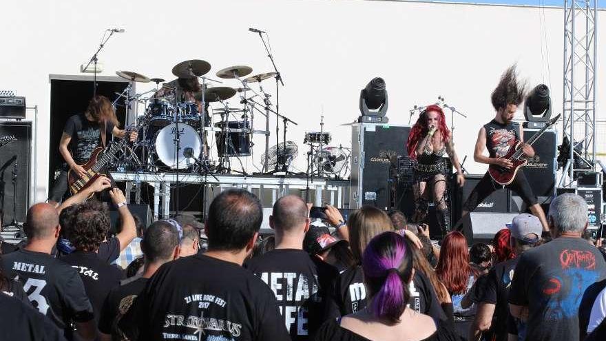 Unas 4.500 personas asistirán al Z! Live Rock Fest que comienza el viernes