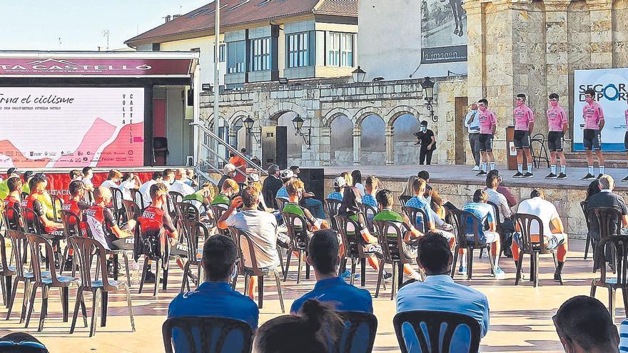 El espectáculo de la Volta a Castelló arranca en Segorbe