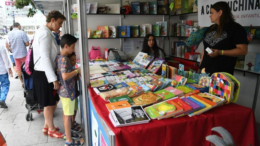 Inauguración Feira do Libro A Coruña 2019