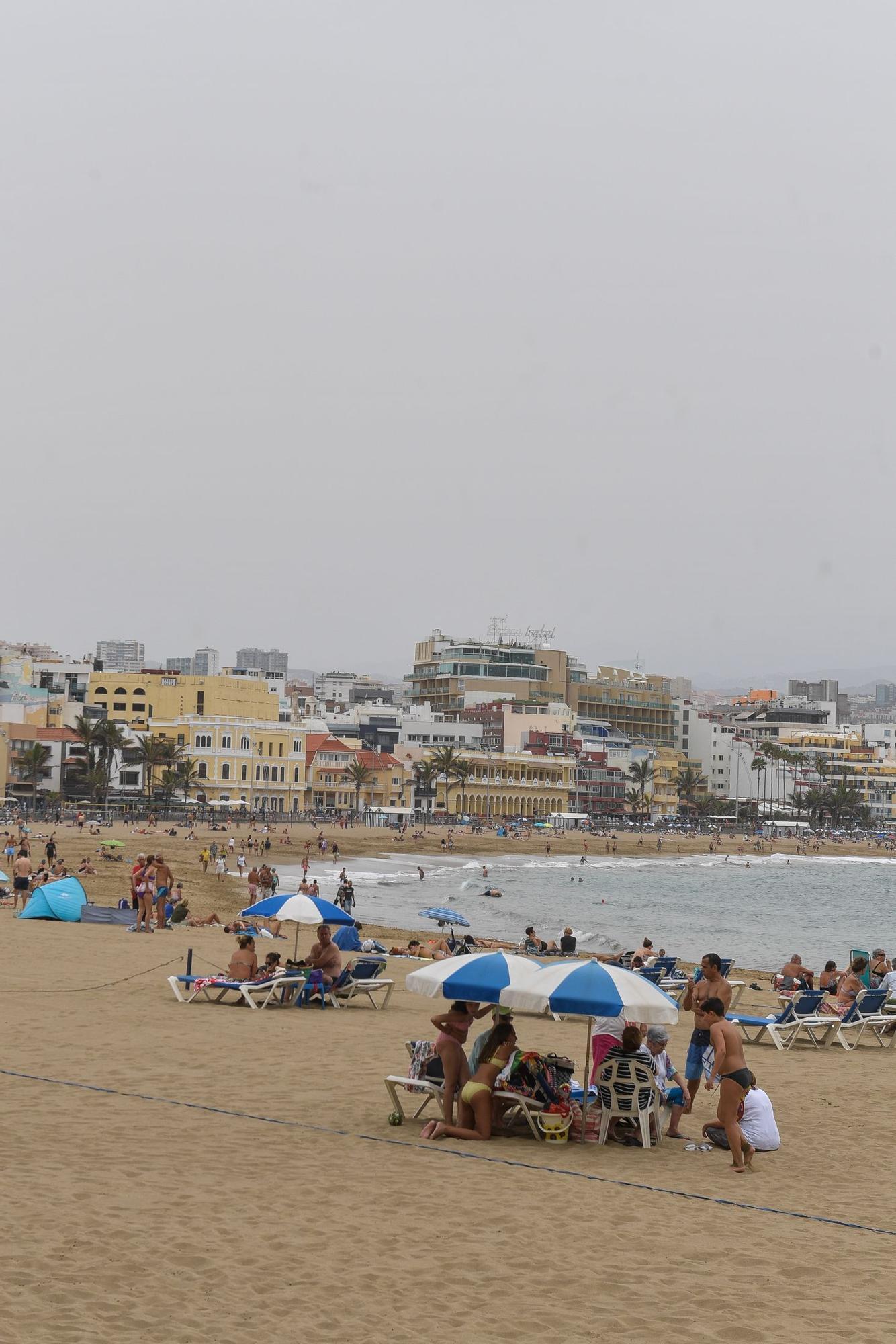 Un domingo con panza de burro en Las Canteras (11/07/21)