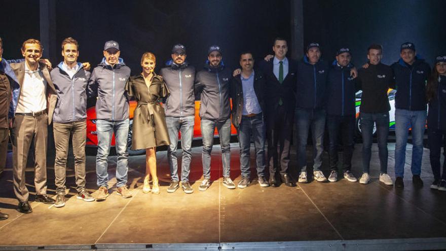 Terra Training tiene a Sordo como embajador y cinco pilotos para 2020