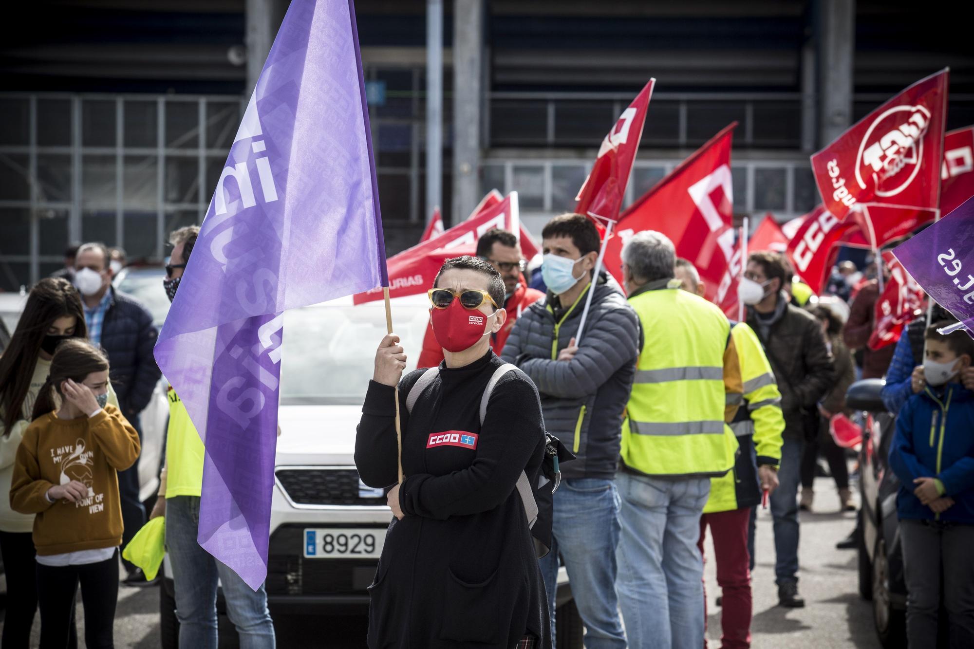 Pitada en Oviedo en favor de la industria