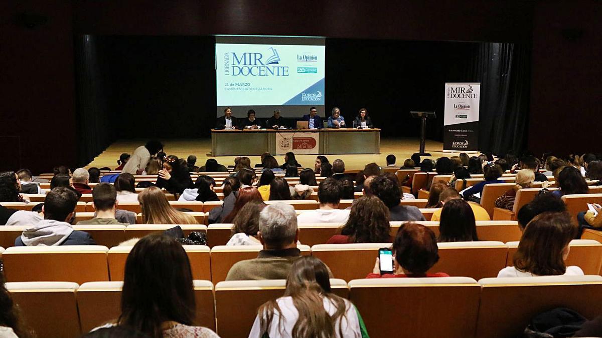 Jornadas MIR Docente desarrolladas en Zamora. | L. O. Z.