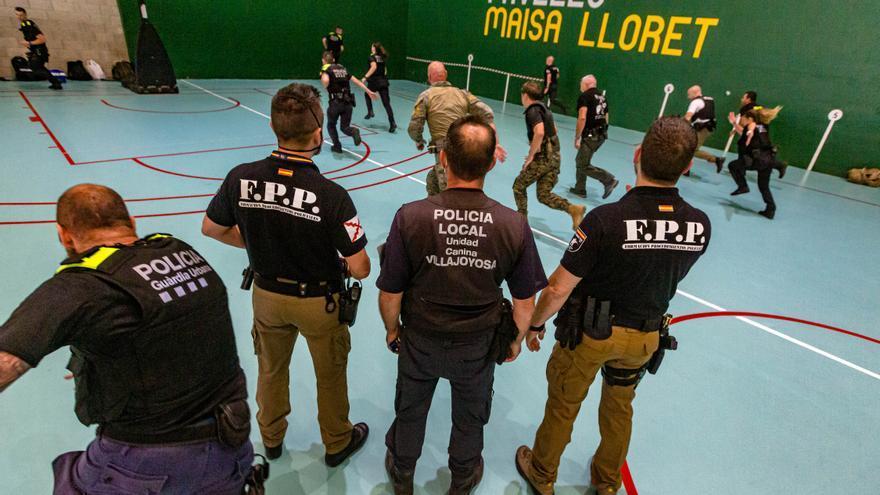 La Vila Joiosa, academia internacional de policías
