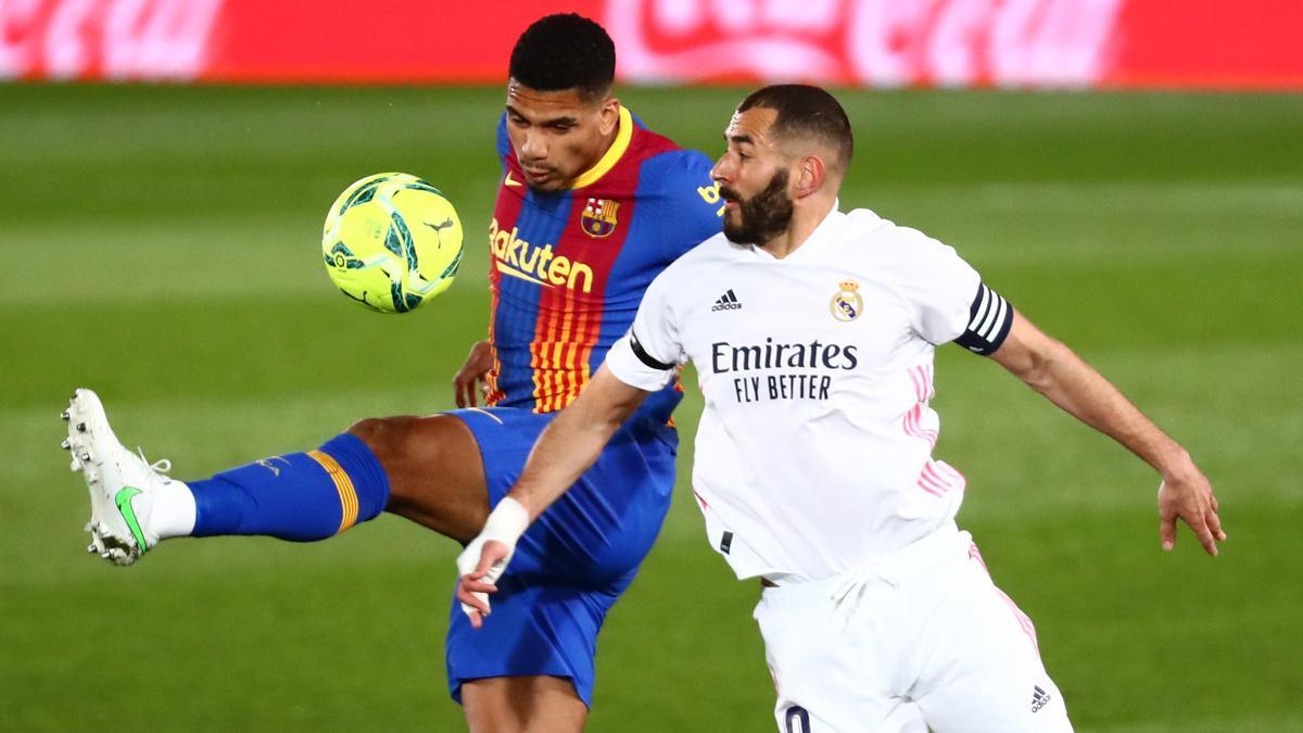Imagen del partido Real Madrid - Barcelona.