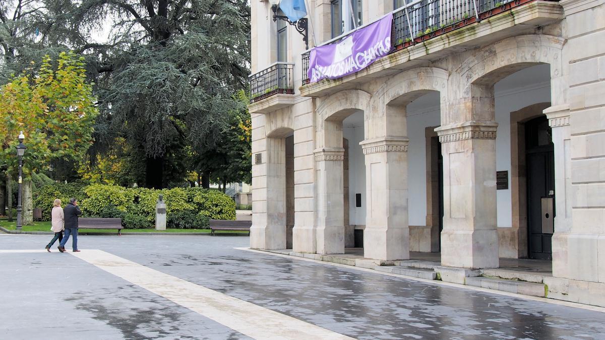 Fachada del ayuntamiento de Siero.