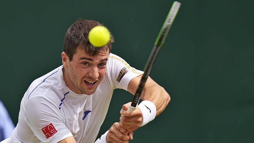 Pedro Martínez protagoniza la sorpresa de Wimbledon al derrotar a Gael Monfils