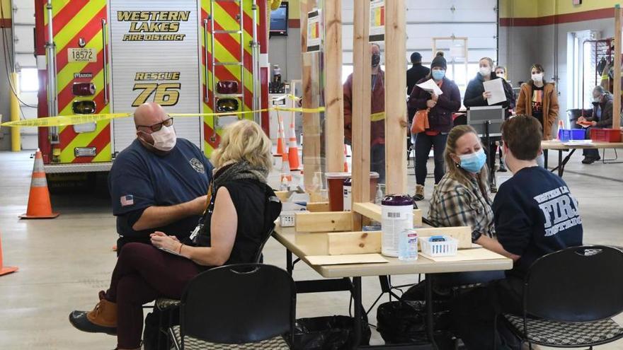 EEUU, cerca de los 24 millones de contagios tras registrar casi 200.000 en un día