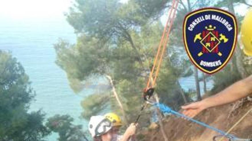 Feuerwehr rettet zwei Wanderer auf Mallorca
