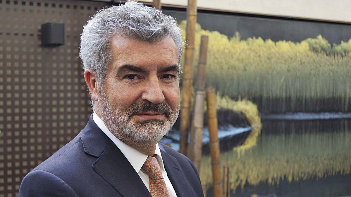 El empresario zamorano Javier Benavente.