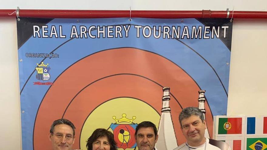 Arqueros de Zamora se codean con grandes de este deporte
