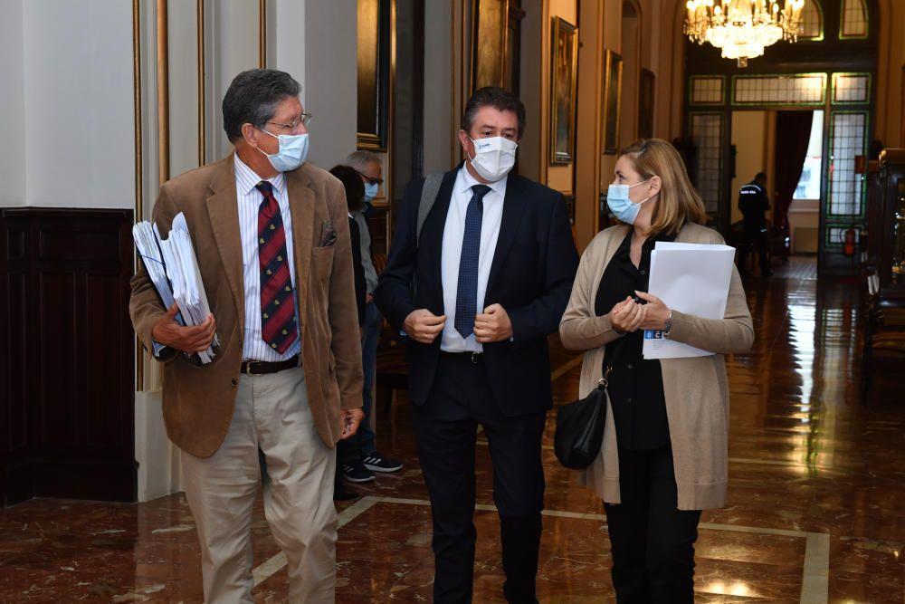Xiao Varela se despide del pleno de A Coruña