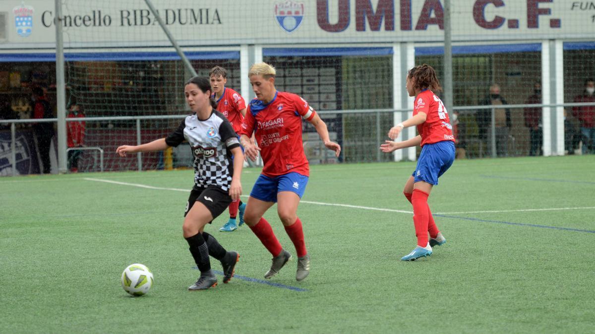 El Umia logra una goleada en su visita a Cantabria