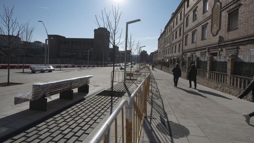 Afectacions al trànsit per fer els darrers treballs a la nova calçada de la via Sant Ignasi i de l'avinguda Bertrand Serra