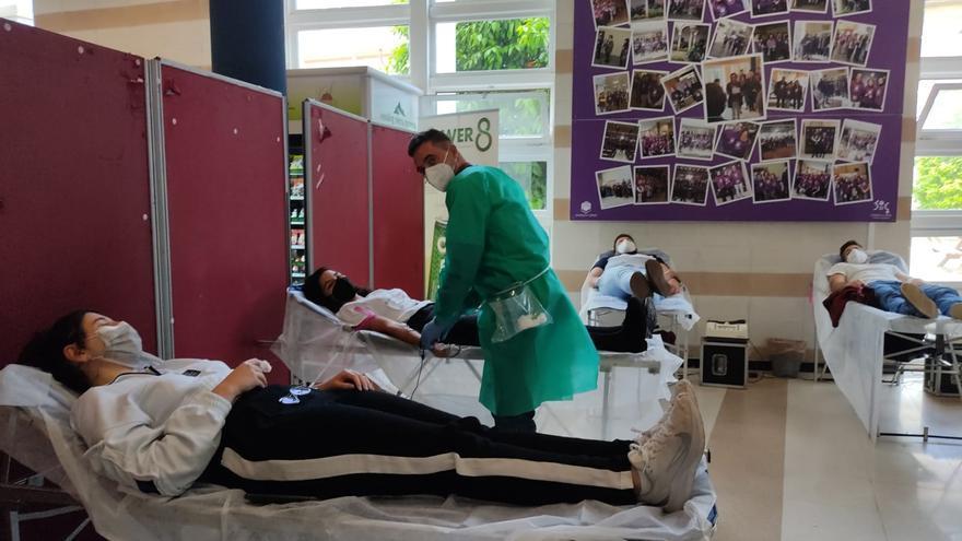 Campaña de donación de sangre en el Campus de Rabanales