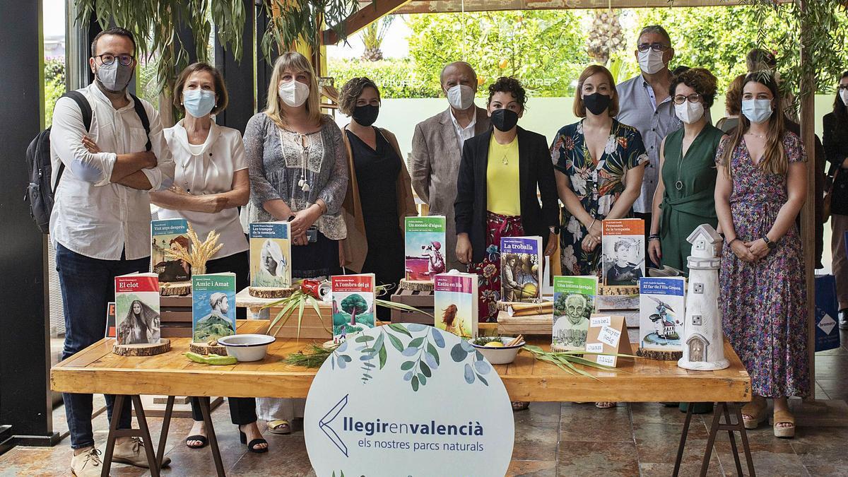 «Llegir en valencià» viatja  als nostres espais naturals   P.I.