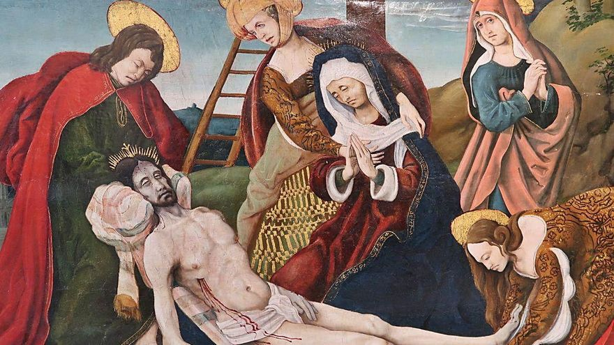 Cultura compra una taula de Borrassà  i una de renaixentista per al Museu d'Art