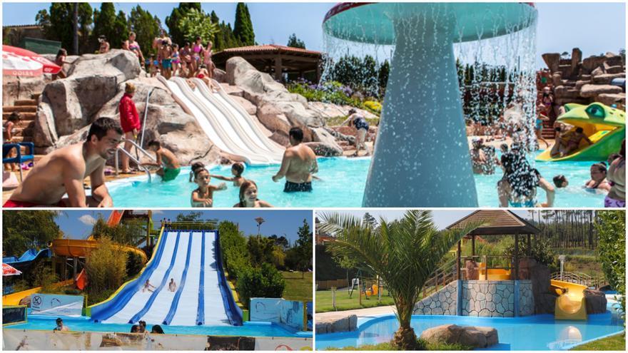 Los 'aquaparks' en los que refrescarte este verano cerca de Vigo