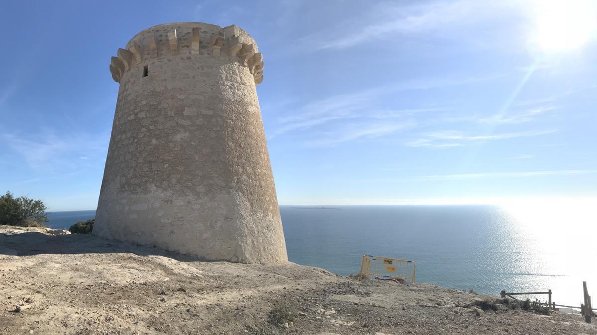 Torre Escaletes en Santa Pola