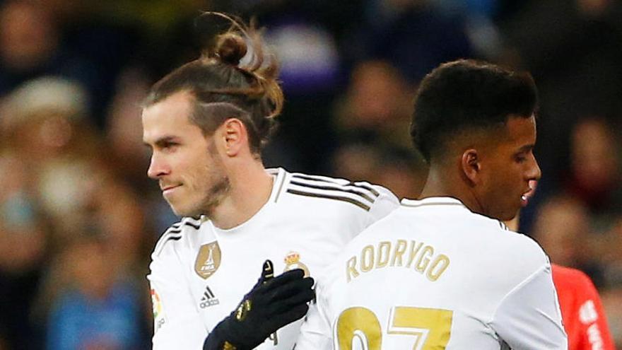Pitada histórica en el Bernabéu contra Bale