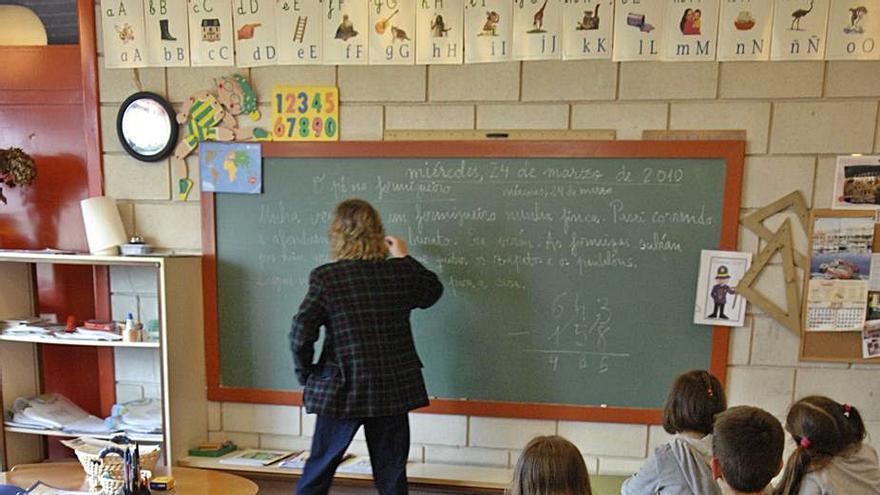 Educación admite una reducción del profesorado para el próximo curso