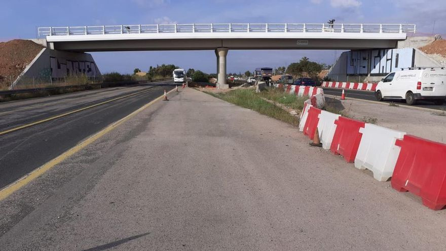 La autopista se cerrará esta noche desde Consell hasta Inca por obras