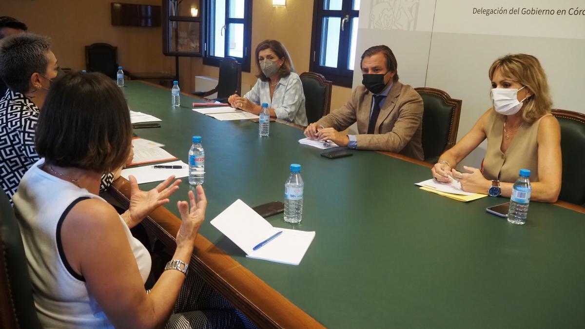 El delegado del Gobierno andaluz en Córdoba, Antonio Repullo, en la constitución de la comisión autonómica provincial para el seguimiento de las medidas frente al Covid-19 en los centros y servicios educativos.