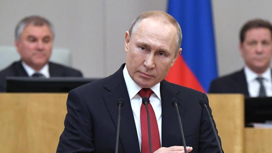 Putin está dispuesto a apoyar con fuerzas policiales a Lukashenko