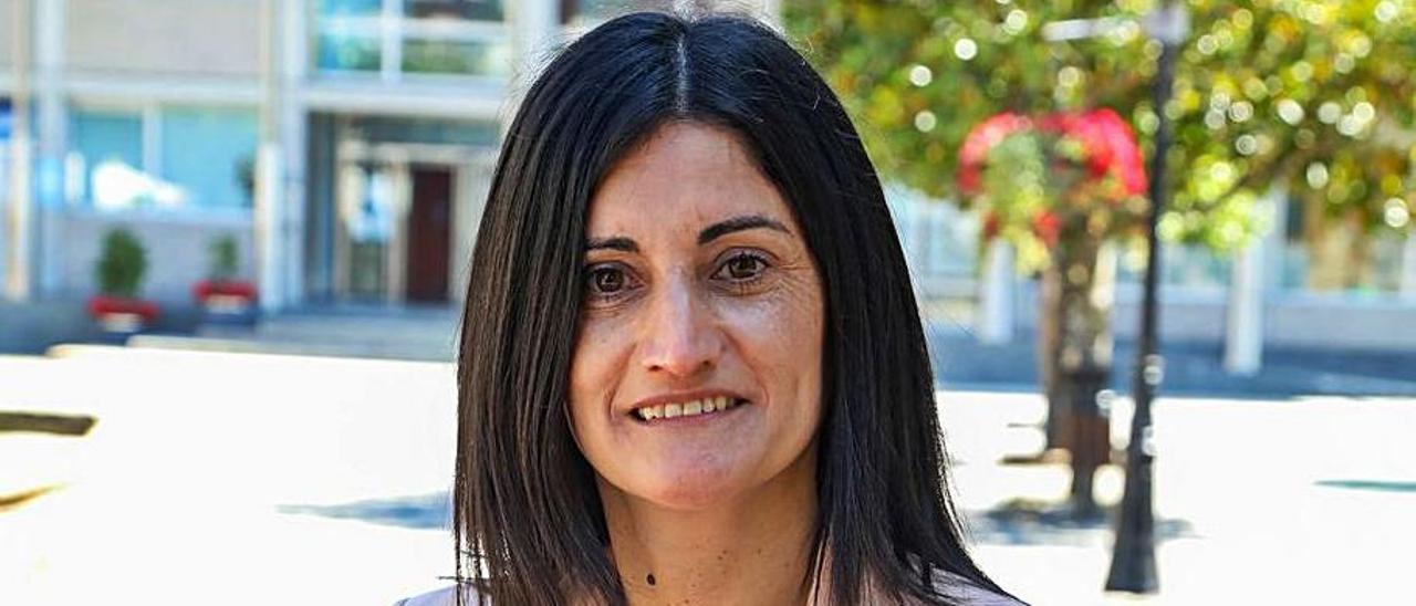 Verónica Tourón, alcaldesa de Salceda de Caselas.