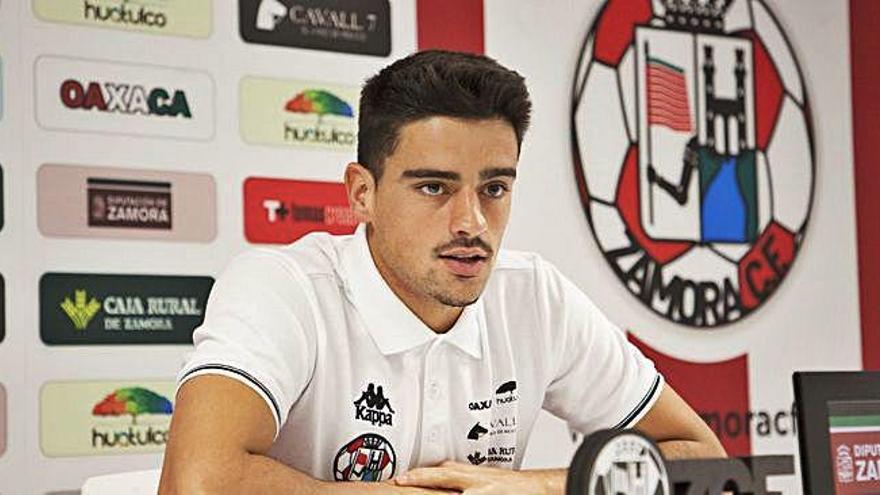 David Álvarez, ayer en rueda de prensa.