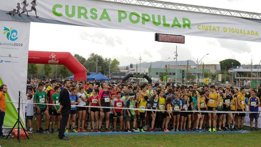 La 41 Cursa Popular d'Igualada reuneix més de dos mil participants