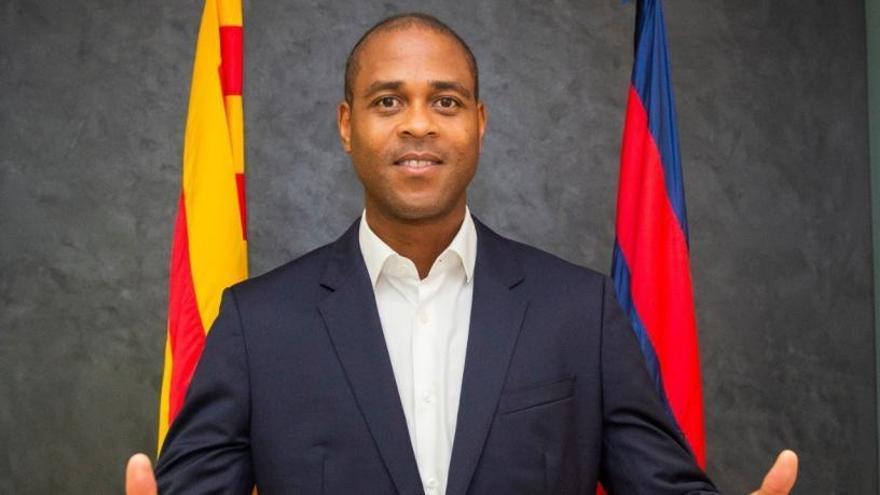 Kluivert, nuevo director del fútbol formativo del Barcelona