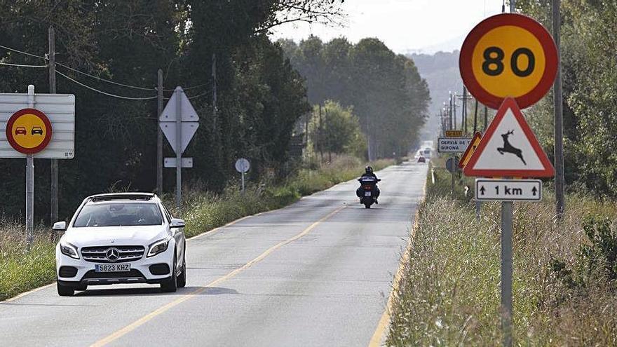Les «obres fantasma» de la carretera de Medinyà a Sant Jordi