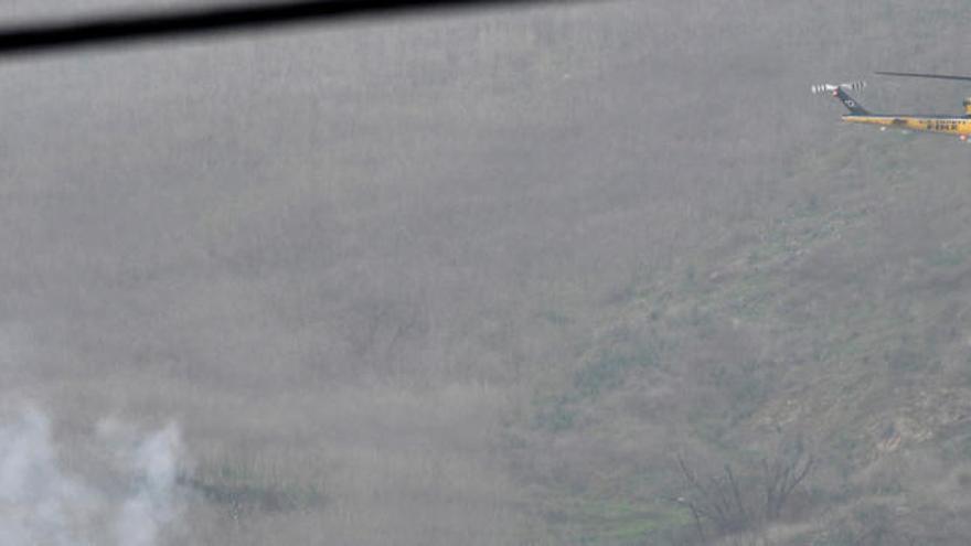 La Policía de los Ángeles ordenó aterrizar sus helicópteros por la niebla