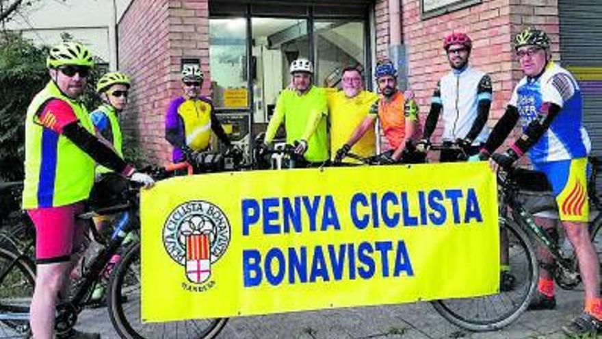 La Penya Ciclista Bonavista pedaleja fins a Gaià en la primera sortida de gravel i prepara una sortida a l'abast de tothom