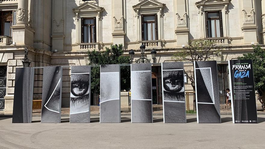 Exposición fotográfica Una altra Franja per a Gaza