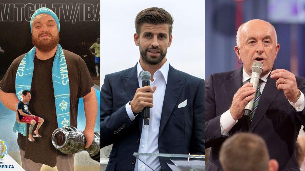 Ibai Llanos y Gerard Piqué se alían para retransmitir la Copa América en España.