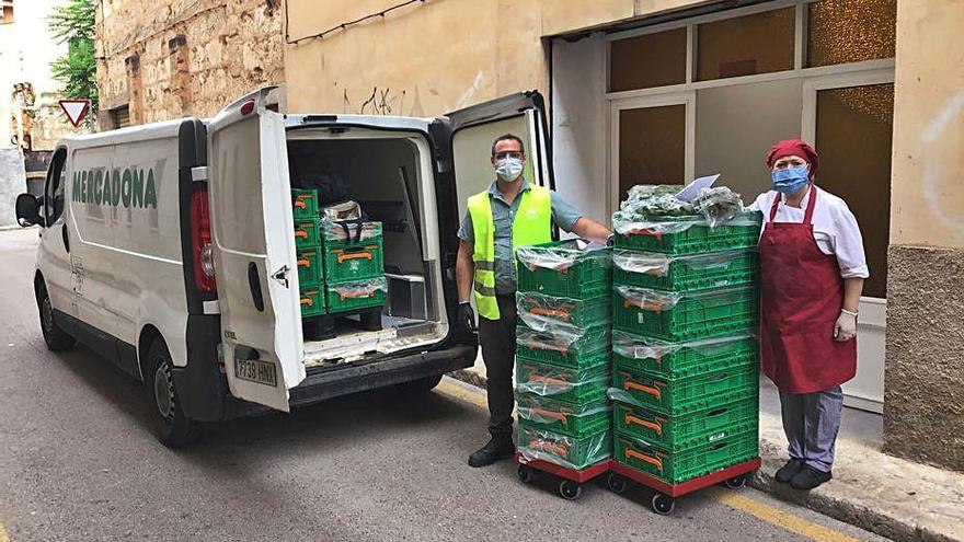 Mercadona donó más de 17.000 toneladas de alimentos en 2020 a entidades sociales