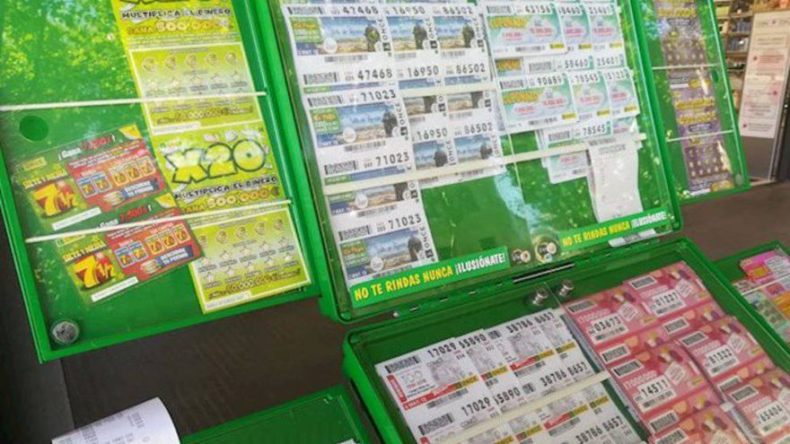Lluvia de euros en Gran Canaria gracias a los sorteos de la ONCE
