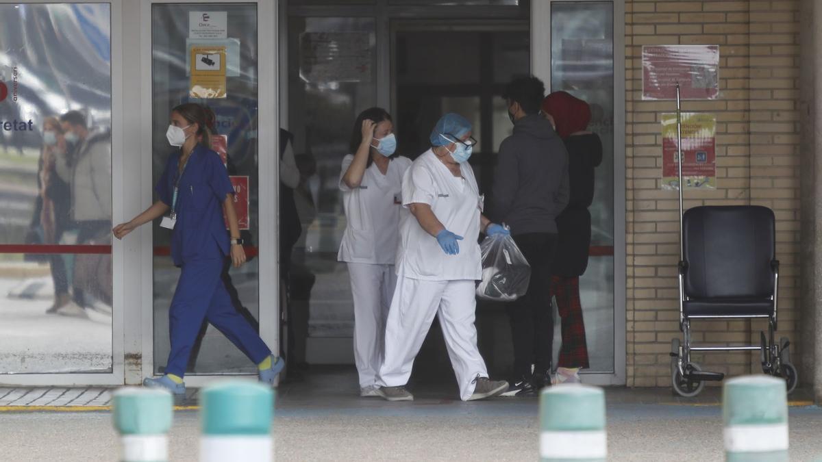 Imagen de Urgencias del Hospital General de Castelló.